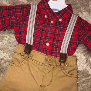 OshKosh B'gosh Matching Sets - Baby boy Christmas outfit
